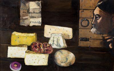 2-Personaggio-di-Rembrandt-olio-su-tela-1991-collezione-privata