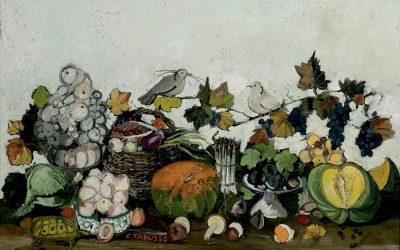 3-Natura-morta-con-tartaruga-olio-su-tela-1994-collezione-privata