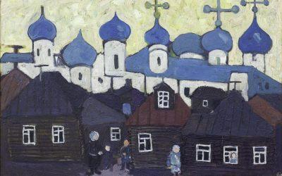4-Il-monastero-di-Zagorsk-olio-su-tavola-1957-collezione-privata