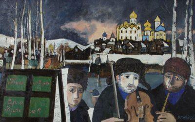 4-Pierino-e-il-lupo-olio-su-tavola-1995-collezione-privata