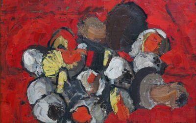 5-Funghi-1958-olio-su-masonite-collezione-privata